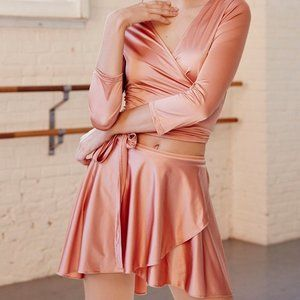 Free People Movement Peach Ballet Skirt (One Size)